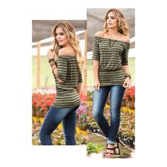 Reposting @bluebells_ec: Blusa a rayas/mangas 3/4 Viscosa tallas: S, M, L, XL #fashion #styles #stylish #lover #tigesforlikes #me #phootooftheday #cute #nails #hair #beauty #beautifull #instagoods #instafashion #girly #pretty#pink #eyes #girl #girls #drees #modelos #models #skirl #shoes #heels #outfits #guayaquil #ecuador #bluebells_ec