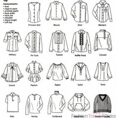 Different Types Of Tops