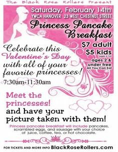 princess breakfast fundraiser - Google Search                                                                                                                                                                                 More