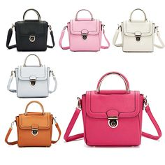 New Style Ladies Quality Faux Leather Handbag Girls Shoulder Bag – Discount Clothing