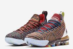 Nike LeBron 16 What The 1 Thru 5 Multicolor BQ6580-900 For Sale Lebron James 4ae496f87