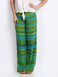 The bright colours will look beautiful with a loose linen top and flat slippers! - cooliyo.com