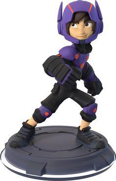 Figurine 'Disney Infinity 2.0' - Disney Originals : Hiro: Amazon.fr: Jeux vidéo