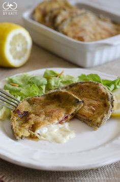 Cordon bleu di melanzane al forno | Giorno dopo giorno by Katy