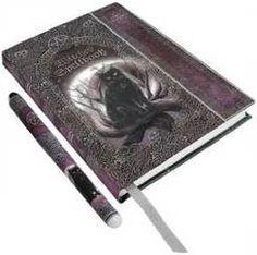 NIGHT SUN Diary Book of Shadows Occult Fantasy Art Blank Journal