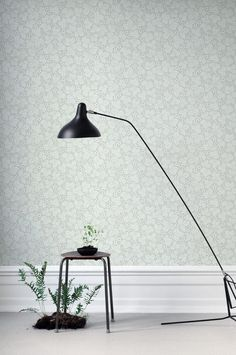 A delightful wallpaper with a pattern of winding wild strawberry runners, for small and medium-sized rooms. In this gentle yellow colour scheme, with its soft surface, Henry gives a pleasant, cosy feel to the room. Wallpaper Size, Green Wallpaper, Flower Wallpaper, Wall Wallpaper, Pattern Wallpaper, Sandberg Wallpaper, Henry Gray, Classic Wallpaper, Green Color Schemes