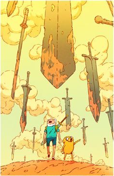 Adventure Time #75 Subscription Cover on Behance