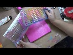 Introduction to Paint Combs by Dina Wakley | Ranger Ink and Innovative Craft Products