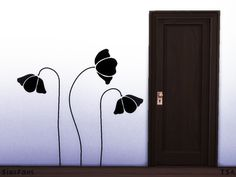 Melinda-Space's Flowers Wall Sticker
