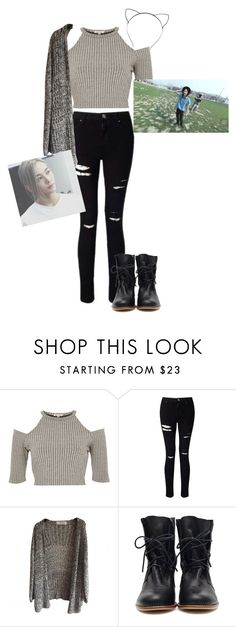 """""""Pretty u~Jeonghan!"""" by pieeella ❤ liked on Polyvore featuring River Island and Miss Selfridge"""