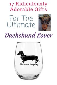 17 Ridiculously Adorable Dachshund Gifts For Weiner Dog Fanatics Dachshund Facts, Funny Dachshund, Dachshund Love, Dachshunds, Weenie Dogs, Cute Images, Funny Love, Puppys, Cute Gifts