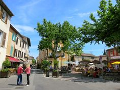 Congenial restaurants in Biot, South of France.