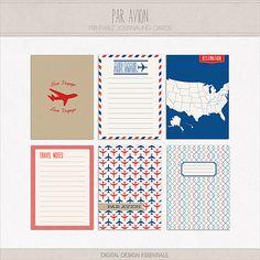 Inspired by Air Mail Correspondence + FREEBIE   Digital Design Essentials