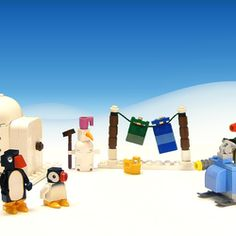 "Noot noot! Welcome to the Pingu LEGO Ideas page! Who is Pingu? In 1986 the animated TV series ""Pingu"" was created by Otmar Gutmann. It stars the little penguin Pingu who lives with his family in an igloo on the South Pole. He likes to go on adventures with his sister Pinga and his seal friend Robby, and at home he often causes mischiefs. I watched this show a lot when I was a kid, and I still like the unique style and humor in it. One of the reasons for its uniqueness is that the penguins…"
