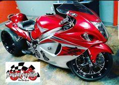 Street Motorcycles, Custom Street Bikes, Custom Sport Bikes, Custom Motorcycles, Suzuki Motorcycle, Moto Bike, Motorcycle Art, Custom Hayabusa, Stunt Bike