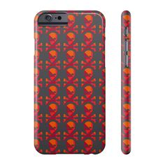 Skull Pattern Cover For iPhone 6, 6P, 6S And 6SP  #value #quality #phonecases #case #iPhone #Samsung #siliconephonecases #plasticphonecases #leatherwalletphonecases #phonecovercases