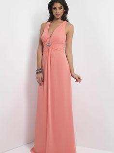 840ed2d4c93 2015 A-line V-neck Chiffon Floor Length Bridesmaid Dress 4082 Designer  Bridesmaid Dresses