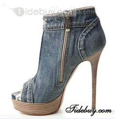 Blue Denim Lace Peep Toe Platform Pumps Heels Today Only! Women's Blue Denim Lace Peep Toe Platform Pumps HeelsToday Only! Platform Stilettos, Pumps Heels, Stiletto Heels, High Heels, Red Platform, Platform Sneakers, Denim And Lace, Blue Denim, Blue Jeans