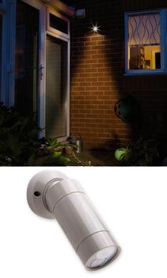 Anywhere Motion Sensor Light; no wiring; AA batteries; put anywhere; great for safety outside - lights turn on for any little burglars looking to sneak around the house.  $25