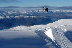 Snowboarding,Treble Cone, South Island New Zealand