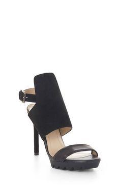 Veera High-Heel Leather Sandal