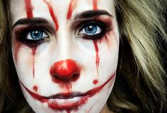 #halloween #spooky #clown #makeup inspired