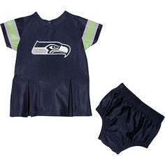 19671f1b3 Seattle Seahawks Jersey Dress - Baby