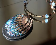 concentric indentations.............# Collier - Erminy by Dumauvobleu, via Flickr