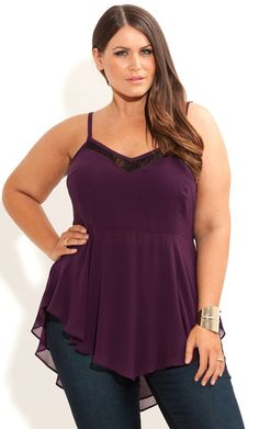 Plus Size Top - City Chic