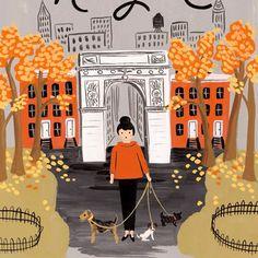 Affiche Riffle Paper Co New York   Atelier du petit parc