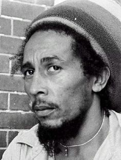 Bob Marley in a pensive mood