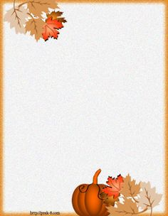 elegant fall colorful leaves Halloween decorations regular lined stationery writing paper, free printable Halloween stationery