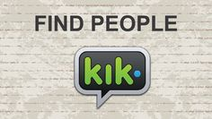 Gay kik usernames australia