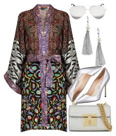 """Peace"" by fashionablefangirl ❤ liked on Polyvore featuring Duro Olowu, Gucci, Manolo Blahnik, Effy Jewelry and Victoria Beckham"