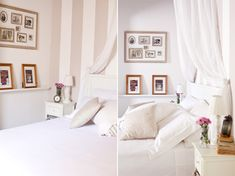 New in my bedroom : The Striped Wall - Sweet as a Candy