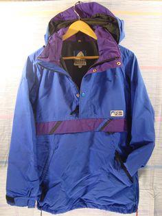 Sierra Designs VNTG Pullover Jacket by FleecenStuff on Etsy