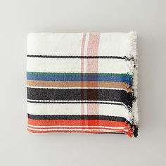 multi stripe blanket | steven alan