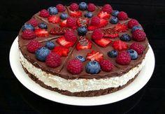 NapadyNavody.sk | Výborný NEPEČENÝ kokosový cheesecake s nutelou alebo čokoládou