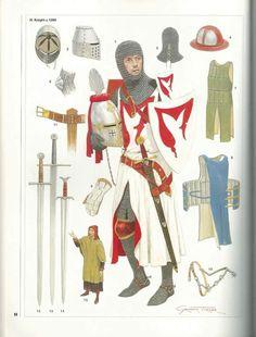 <중세 시대 갑옷> - 옷, 그림 자료 : 네이버 블로그