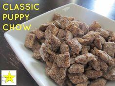 Puppy Chow... the forgotten dessert, yet so amazing!