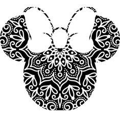 Disney Stencils, Disney Decals, Cricut Craft Room, Cricut Vinyl, Cricut Fonts, Lego Disney, Disney Art, Mandala Disney, 3d Zeichenstift