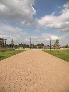 Biassono, Parco Urbano - Camminamento principale