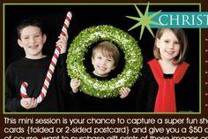 Christmas card idea Tammy brice photography