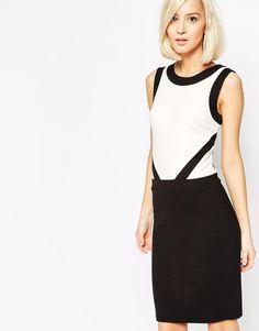 Image 1 ofSelected Lisette Dress in Colourblock