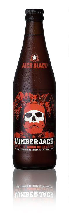 Craft Beer Pack Shots: Jack Black Lumber Jack. www.bakkesimages.co.za