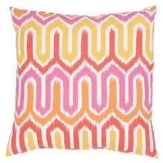 Add a new decorative accent to any space in your home with this comfortable and stylish throw pillow.