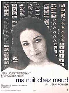 Ma nuit chez Maud (My Night With Maud) by Eric Rohmer (1969)