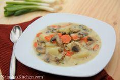 Russian Mushroom and Potato Soup Recipe
