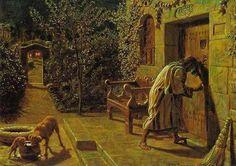 The Importunate Neighbour   William Holman Hunt
