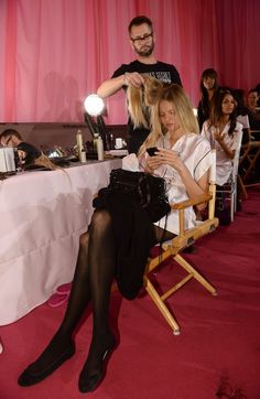 Backstage pokazu Victoria's Secret - Magdalena Frąckowiak, fot. East News